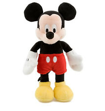 "Disney Authentic Mickey Mouse Classic Bean Bag Plush Toy 9"" Boys Girls Gift NEW"