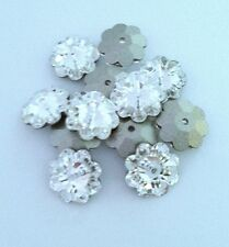 Swarovski 3700 Flower Margarita Bead FOIL Back CRYSTAL 6mm