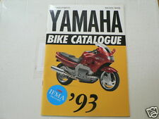 Y278 YAMAHA BROCHURE BIKE CATALOGUE IFMA 1992-93 JAPANESE LANGUAGES 36 PAGES YZF