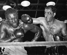 ROCKY MARCIANO 1954 BOXING FIGHT EZZARD CHARLES 8x10 PHOTO
