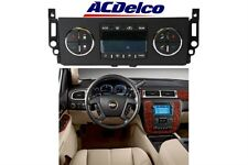2007-2011 GM AC Delco Heater Control Panel Chevy GMC Cadillac New Free Shipping