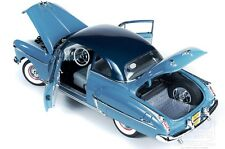 1950 Oldsmobile Rocket 88 in two-tone Blue GREASE 1:18 Auto World 103