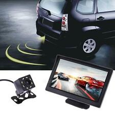"5"" TFT LCD Mirror Car Parking Monitor with Reversing Parking Rear view Camera"