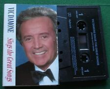 Vic Damone Sings the Great Songs inc The Look of Love + Cassette Tape - TESTED