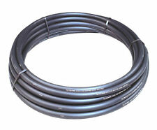 10 METRES OF 32MM BLACK ELECTRIC CABLE POLYDUCT DUCTING FOR MAINS SUPPLY CABLE