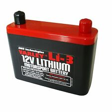 Varley Lithium Li-3 Battery - Race / Rally / Motorcycle / Performance