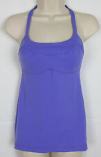 Womens Lululemon tank athletic shirt Yoga top sports bra – Purple – Size  XS
