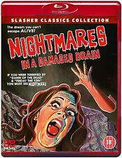 NIGHTMARES IN A DAMAGED BRAIN - Blu Ray Disc -