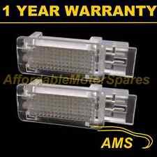 2X FOR MERCEDES SLK SLR VIANO 18 WHITE LED INTERIOR FOOTWELL BOOT DOOR LAMP