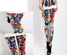 Women Cartoon Girl Leggings Fashion - UK seller