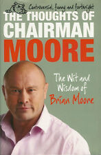 BRIAN MOORE ENGLAND BRITISH LIONS RUGBY BOOK 2010 THE THOUGHTS OF CHAIRMAN MOORE