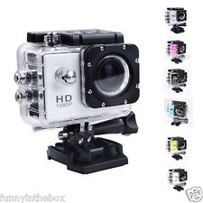 NEW Go Pro SJ4000 Full HD 1080P Waterproof Helmet Action Sports Camera 12MP ZHU1