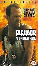 Die Hard With a Vengeance [VHS] [1995], Good VHS, Bruce Willis, Jeremy Irons, Sa