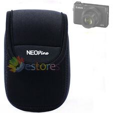 New Neoprene Portable Mini Protective Soft Camera Case Bag For Canon G7X Black