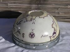 DISNEY CRUISE LINE Authentic Hidden MICKEY MOUSE Globe Lamp Shade PROP w compass