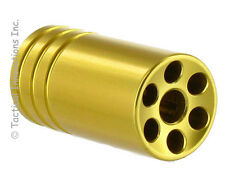 PIKE ARMS MUZZLE BRAKE FOR RUGER 10/22 THREADED .920 BULL BARRELS - SATIN GOLD