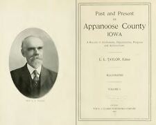 1913 APPANOOSE County Iowa IA, History and Genealogy Ancestry Family DVD B38