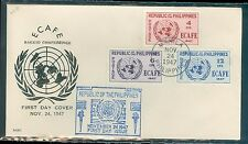 Philippines ECAFE conference set First day cover 1947