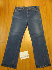 Vintage levi's 517 boot cut REPAIRED Irregular tag 40x32 made in the USA 10914R