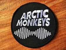 Arctic Monkeys Sew Iron On Patch Rock Band Heavy Metal Logo Music Embroidered