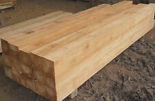 giant squared teak posts up to 6 inches thick and 6 inches wide, beautiful beams