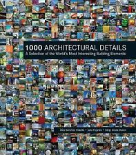 1000 ARCHITECTURAL DETAILS (HARDCOVER) NEW