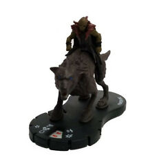 Hero-Clix The Hobbit The Desolation of Smaug Hunter Orc on Warg 107 Mini w/ Card