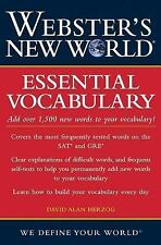 Webster's New World Essential Vocabulary - Herzog, David A - Paperback