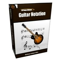 Guitar Music Notation Notes Write Writing Software CD