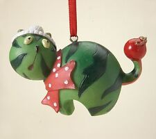 Home Grown Watermelon Cat Ornament Nutrition Facts Christmas Ornaments