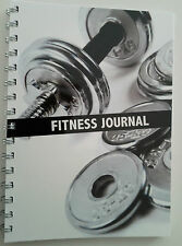 2 x Fitness journal workout tracker gym diary A5 size