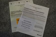 Microsoft windows terminal server 2003 10 cal licences X11-37183 X11-37184