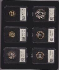 Boxed 2014 datestamp UK UNCIRCULATED anno Set di 12 monete con certificato