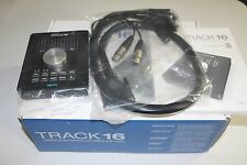 MOTU Track16 Track 16 16x14 Desktop USB Fireiwre Audio Recording Interface
