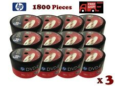 1800 Pack HP Brand Logo Blank 16x DVD-R DVDR Recordable Disc Media Wholesale Lot