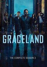 Graceland: The Complete Season 3, New, (3-Disc DVD Set, 2016), Fast Shipping!