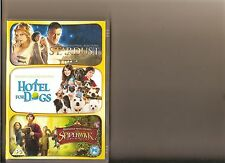 STARDUST / HOTEL FOR DOGS / SPIDERWICK CHRONICLES DVD 3 FAMILY FILMS