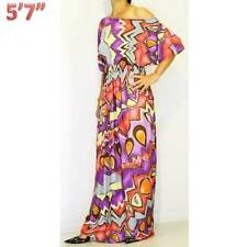 NWT S/M/L 8 10 12 NEW Short Sleeve Colorful Evening Party Gypsy Maxi Long Dress