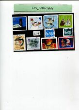 10 PCS ENGLAND UK/GB USED STAMPS # S238