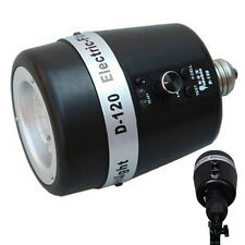Photo Studio Strobe Flash Light Mini Slave Bulb 120WS 32GN E27 220V 110V