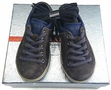 KIDS PRADA SNEAKERS GRAY/ BLUE  LACE UP   SIZE EU 23 / USA 5 PRE SCHOOL
