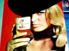 1967-1968 SHELBY AD VTG-Mustang/Cobra/GT/500/350/pilsner glasses/driving gloves