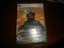 Tropico 3  (Xbox 360, 2010) **Brand New Factory Sealed**Free Shipping**