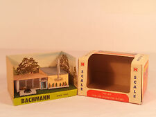 Vintage N Scale Building Bachmann New Car Showroom With Cars # 7403 : 350