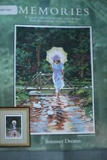 Heritage Stitchcraft Counted Cross Stitch Chart - Summer Dream - Leslie Stones