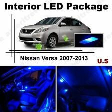 Blue LED Lights Interior Package Kit for Nissan Versa 07-13 ( 6 Pieces )