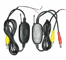 2.4G Wireless Video Transmitter & Receiver for Car Backup Camera and Monitor