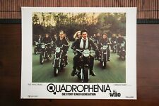 QUADROPHENIA Vintage BRITISH ROCKERS MOTORCYCLE Lobby Card TRIUMPH NORTON BSA