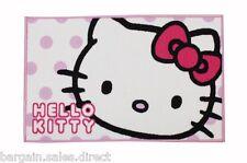 HELLO KITTY Chicas Dormitorio Alfombra de puntos de caramelo