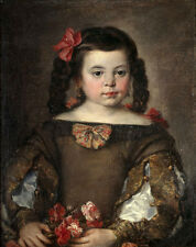 Oil painting jose antolinez - Lovely and cute Una niña A girl holding flowers